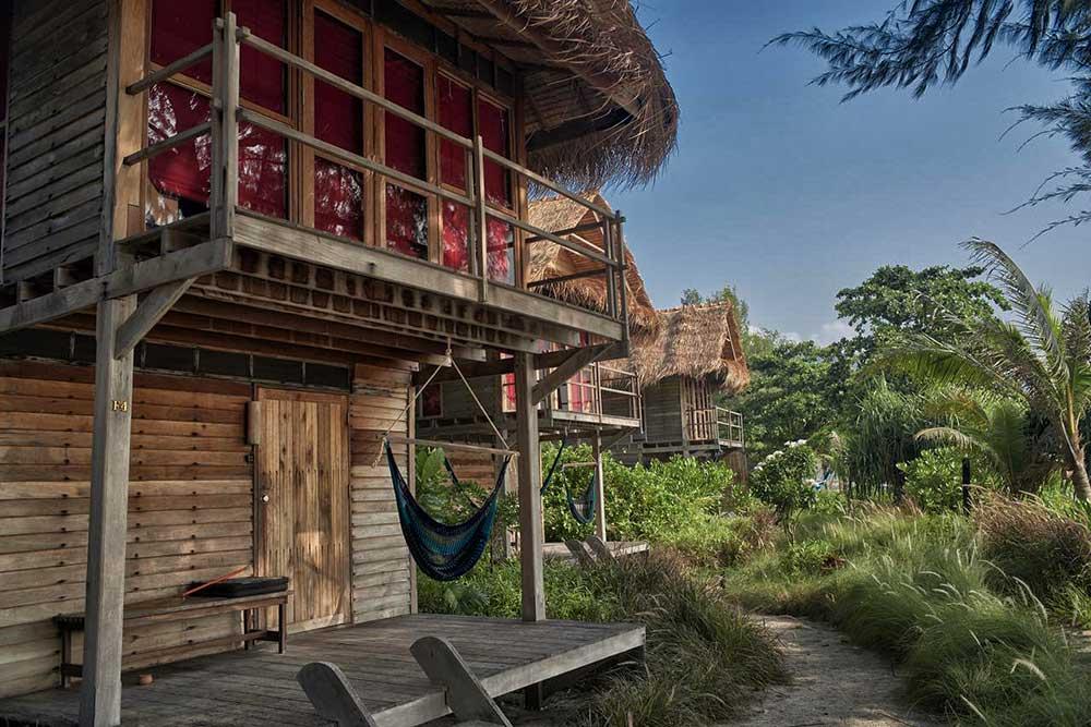 I bungalow del Castaway Resort Koh Lipe