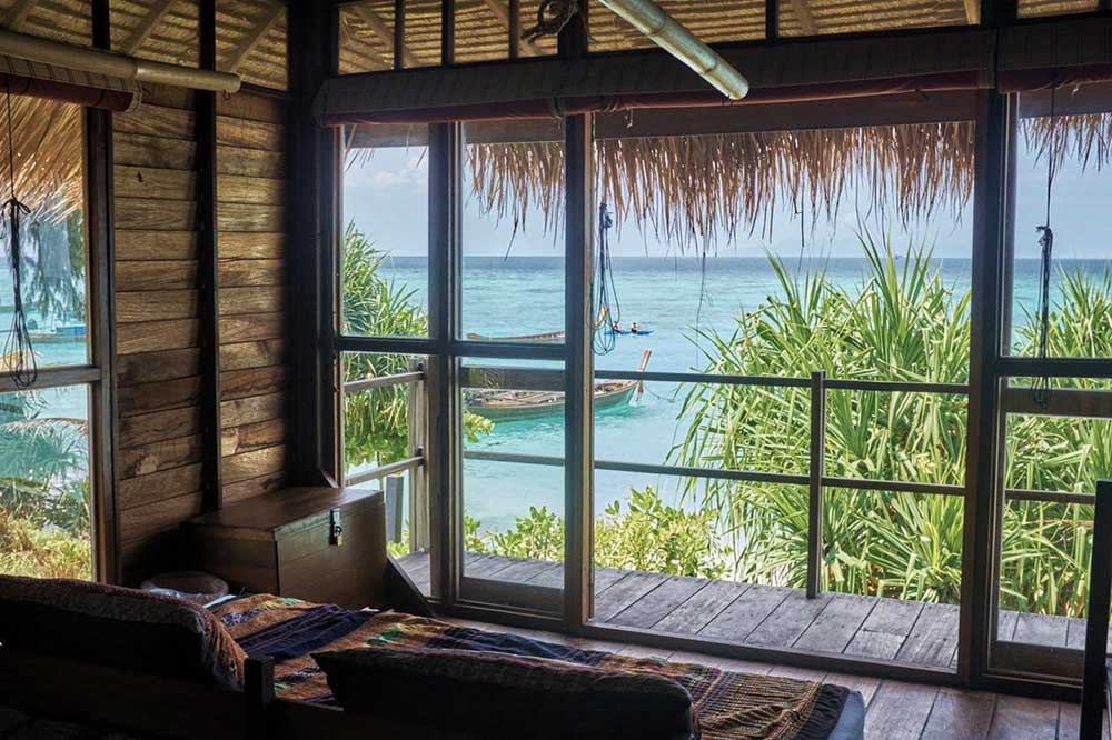 Camera fronte mare Castaway Resort