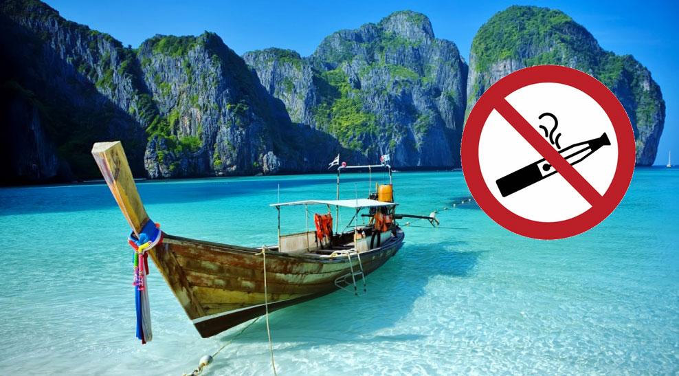 Sigaretta elettronica Thailandia 2019